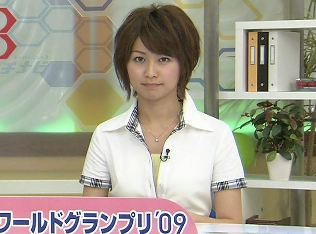 牧尾結衣 かわいい系アナウンサー ハチナビキャプ画像(エロ・アイコラ画像)