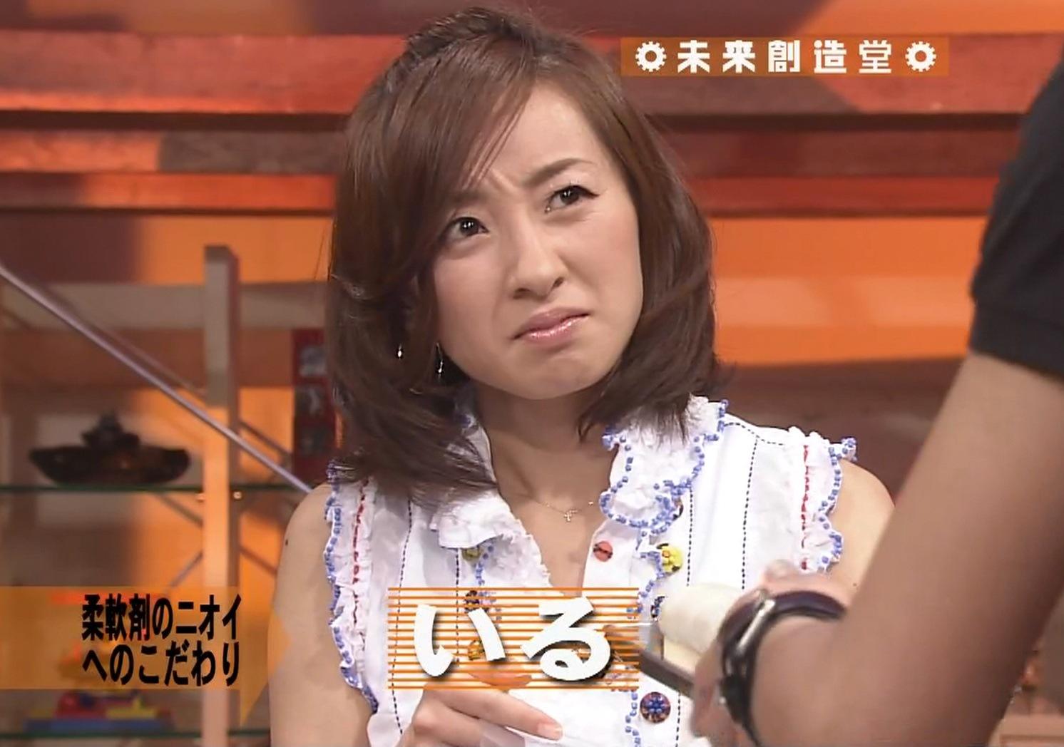 西尾由佳理 ニュースでは見せない表情キャプ画像(エロ・アイコラ画像)