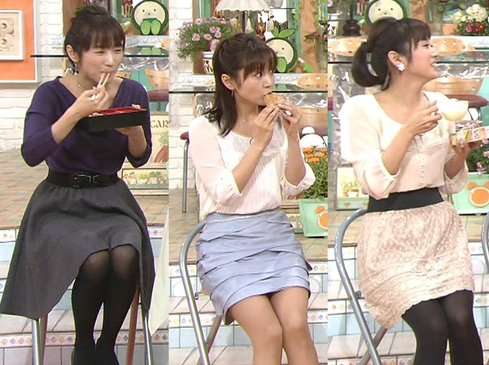 高島彩 やっぱり最高なエロミニスカートキャプ画像(エロ・アイコラ画像)