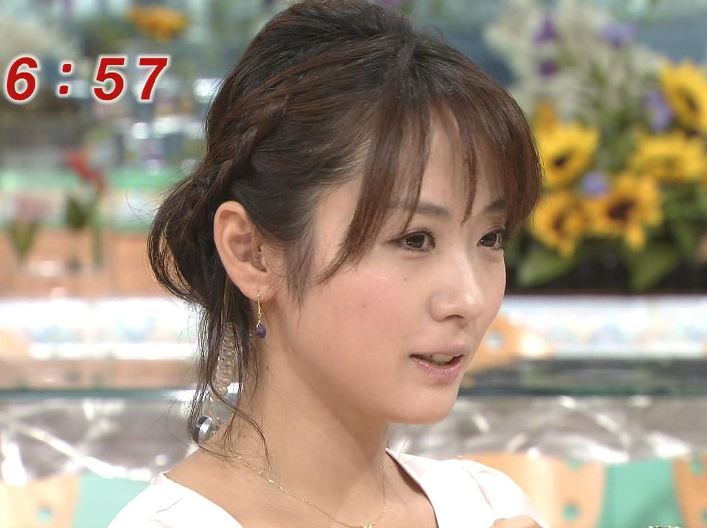 めざましテレビ3人娘のどアップ画像 (高解像度)キャプ画像(エロ・アイコラ画像)
