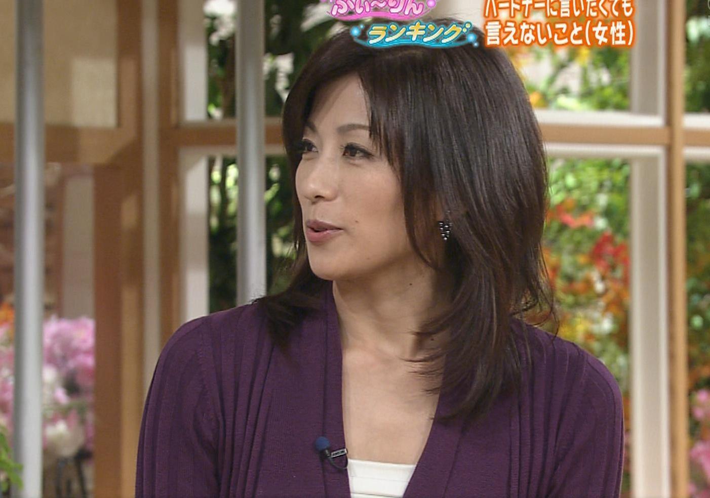 中田有紀 なんだかエロい座り方キャプ画像(エロ・アイコラ画像)