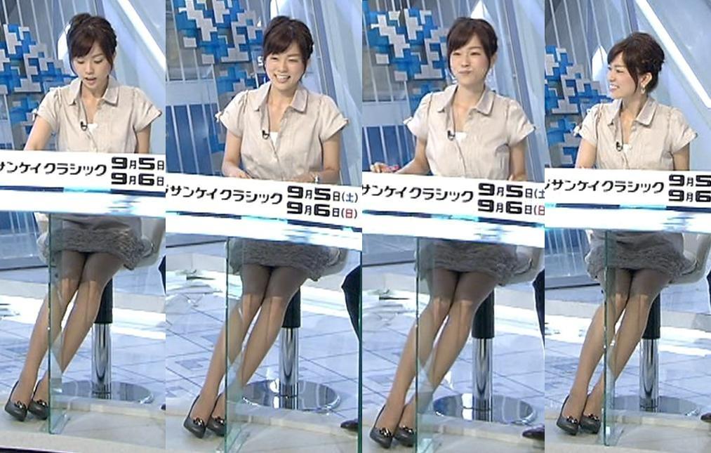 本田朋子 ミニスカ美脚、気になるデルタゾーンキャプ画像(エロ・アイコラ画像)