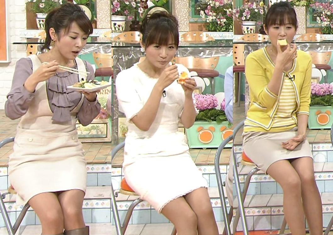 高島彩 暖かくなってきて、エロいミニスカートが増えてきたキャプ画像(エロ・アイコラ画像)