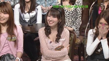 片岡美麗奈 さんまに上半身素っ裸と言われた服キャプ画像(エロ・アイコラ画像)