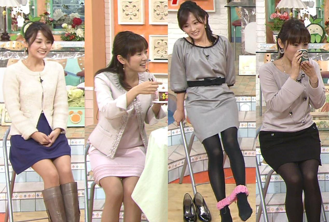 高島彩 エロいミニスカート4着キャプ画像(エロ・アイコラ画像)