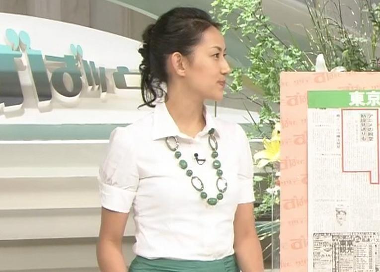 山内あゆ ずばっとアナウンサーキャプ画像(エロ・アイコラ画像)