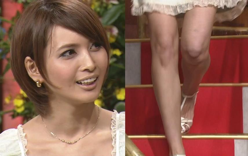 加藤夏希 ミニスカ美脚キャプ画像(エロ・アイコラ画像)