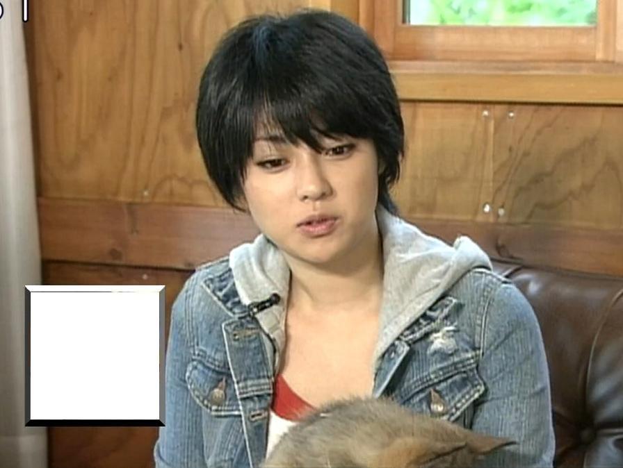深田恭子 かわいいショートカットキャプ画像(エロ・アイコラ画像)