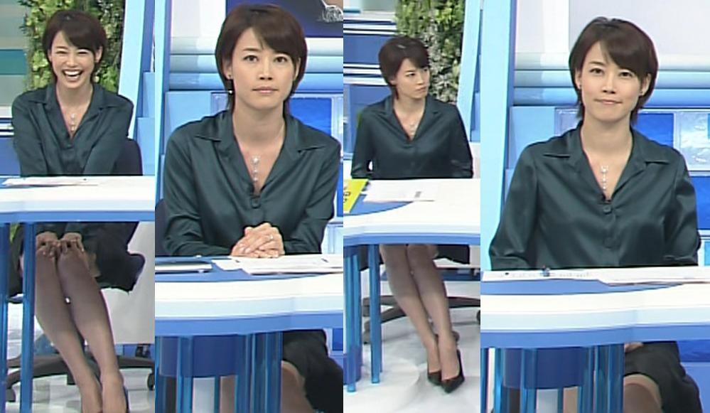 佐藤良子 机の下のデルタゾーンキャプ画像(エロ・アイコラ画像)