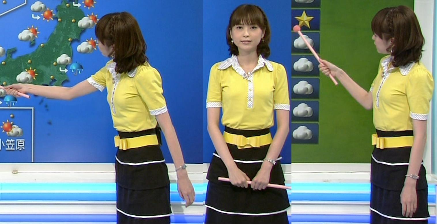 山本志織 胸のふくらみキャプ画像(エロ・アイコラ画像)