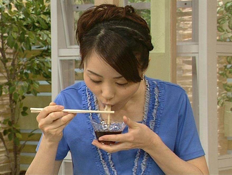 江崎史恵 フェラしてるときの顔 (きょうの料理)キャプ画像(エロ・アイコラ画像)