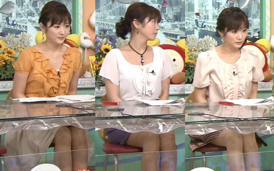 高島彩 ミニスカートキャプ・エロ画像