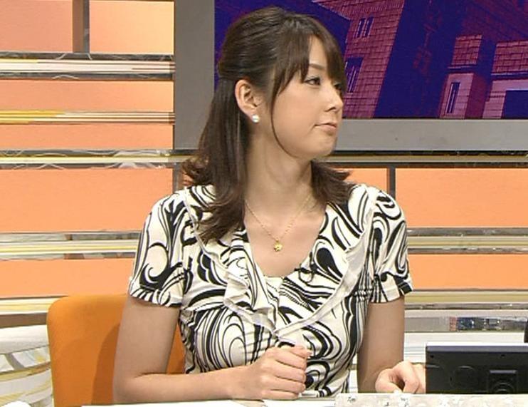 秋元優里 この女子アナは巨乳だ!キャプ画像(エロ・アイコラ画像)