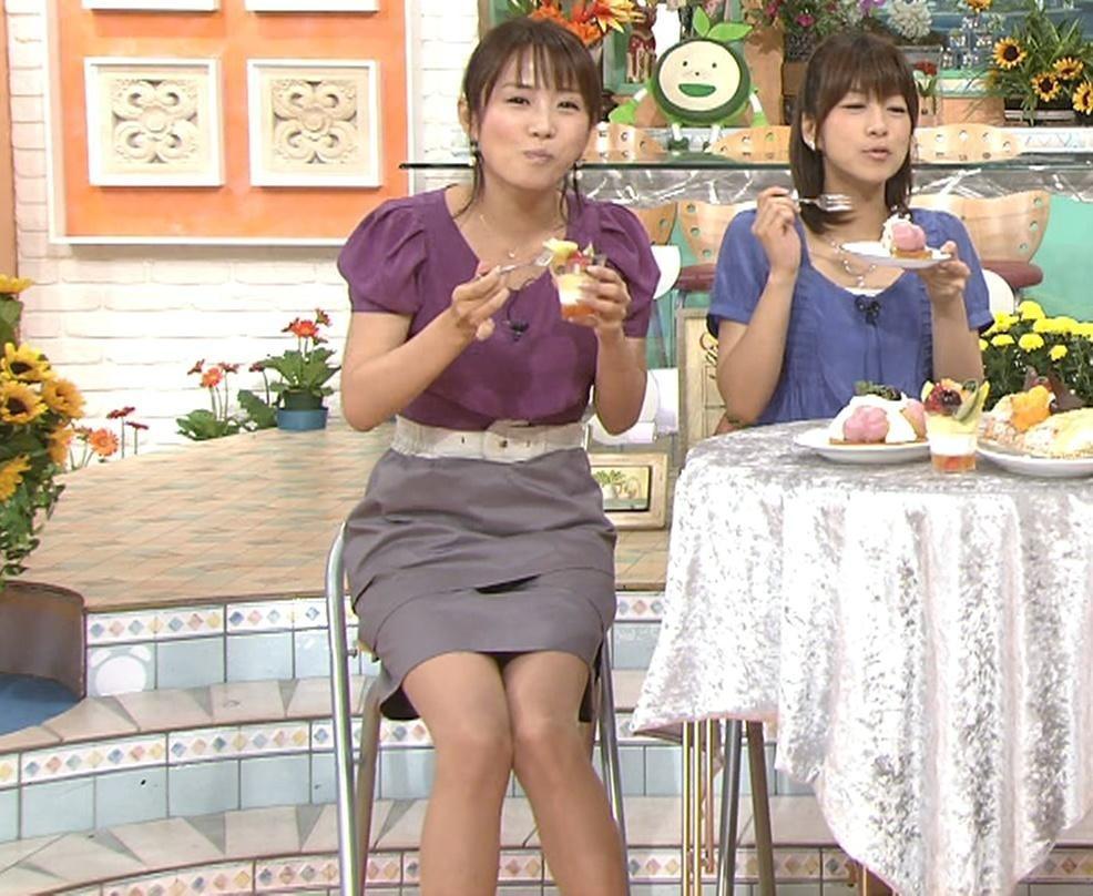 高島彩 今日のミニスカート(9/1)キャプ画像(エロ・アイコラ画像)