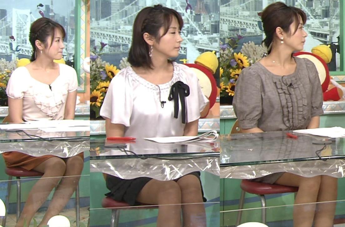 高島彩 最近のミニスカート(9/5付)キャプ画像(エロ・アイコラ画像)