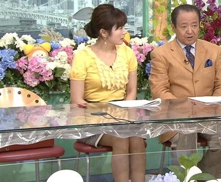 高島彩 おっぱいが目立つキャプ画像(エロ・アイコラ画像)