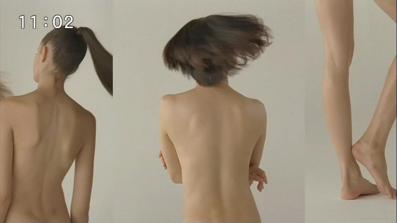 山田優 ブラトップCMでの裸キャプ画像(エロ・アイコラ画像)