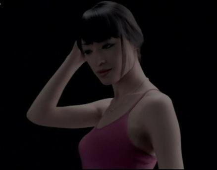 栗山千明 ブラトップのCMで横乳披露キャプ画像(エロ・アイコラ画像)