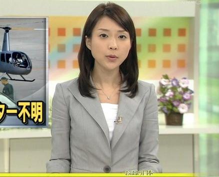 島津有理子 NHK朝の顔 おはよう日本キャプ画像(エロ・アイコラ画像)