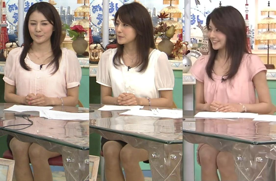 坂本祐祈 机の下のミニスカートキャプ画像(エロ・アイコラ画像)