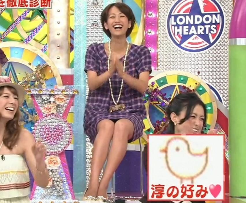 前田有紀 ミニスカパンチラ画像 ロンドンハーツキャプ画像(エロ・アイコラ画像)