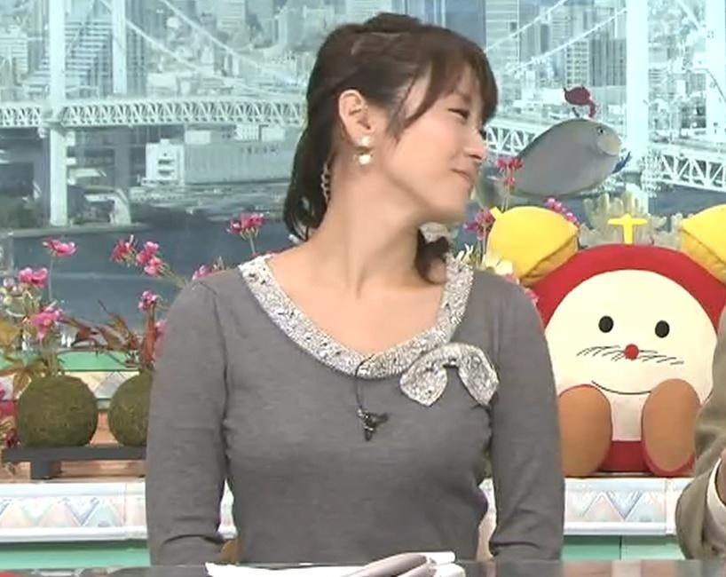 高島彩 おっぱいぴったり服 (20091105)キャプ画像(エロ・アイコラ画像)