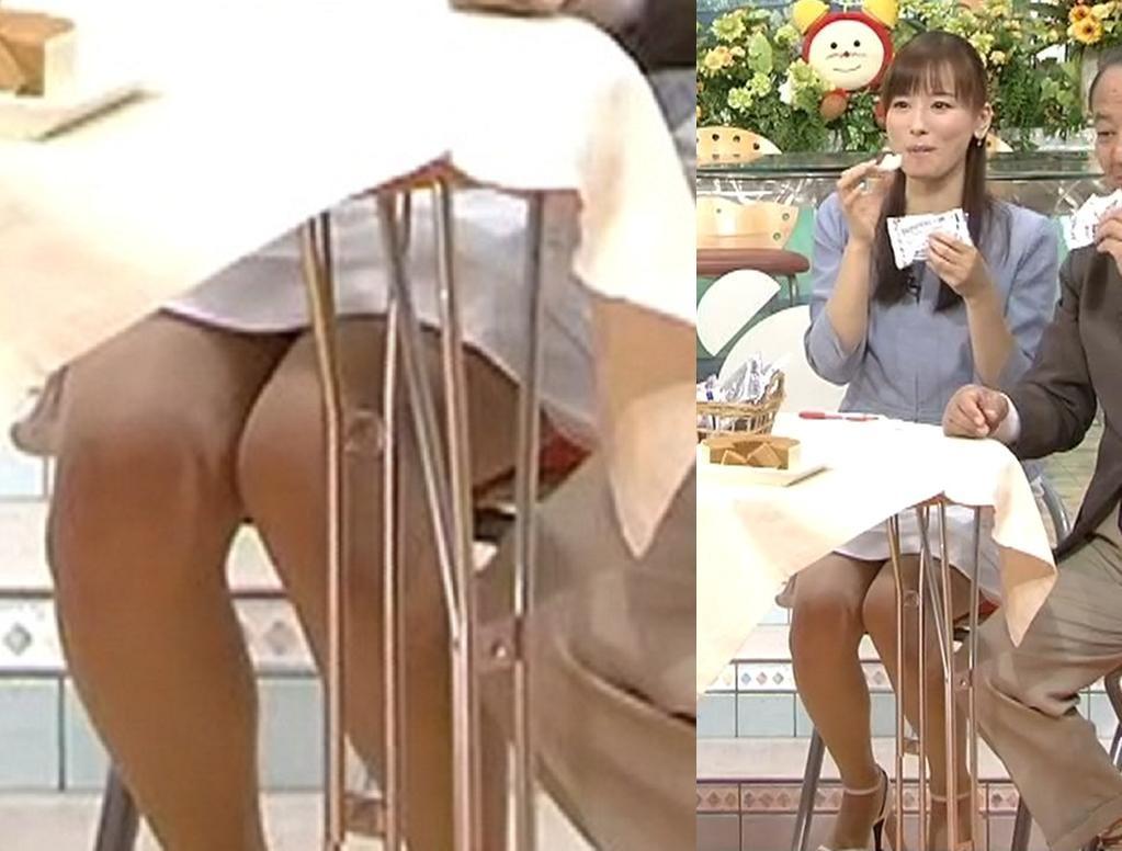 皆藤愛子 ミニスカートのデルタゾーンキャプ画像(エロ・アイコラ画像)