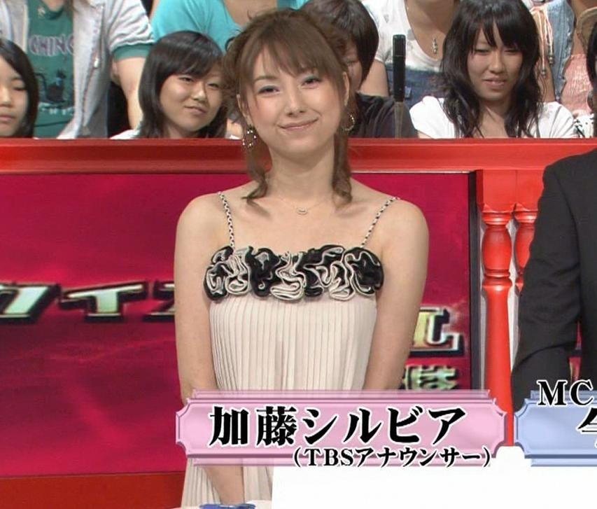 加藤シルビア 露出度の高い服キャプ画像(エロ・アイコラ画像)