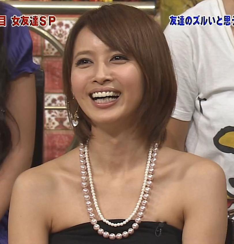 加藤夏希 鎖骨キャプ・エロ画像3