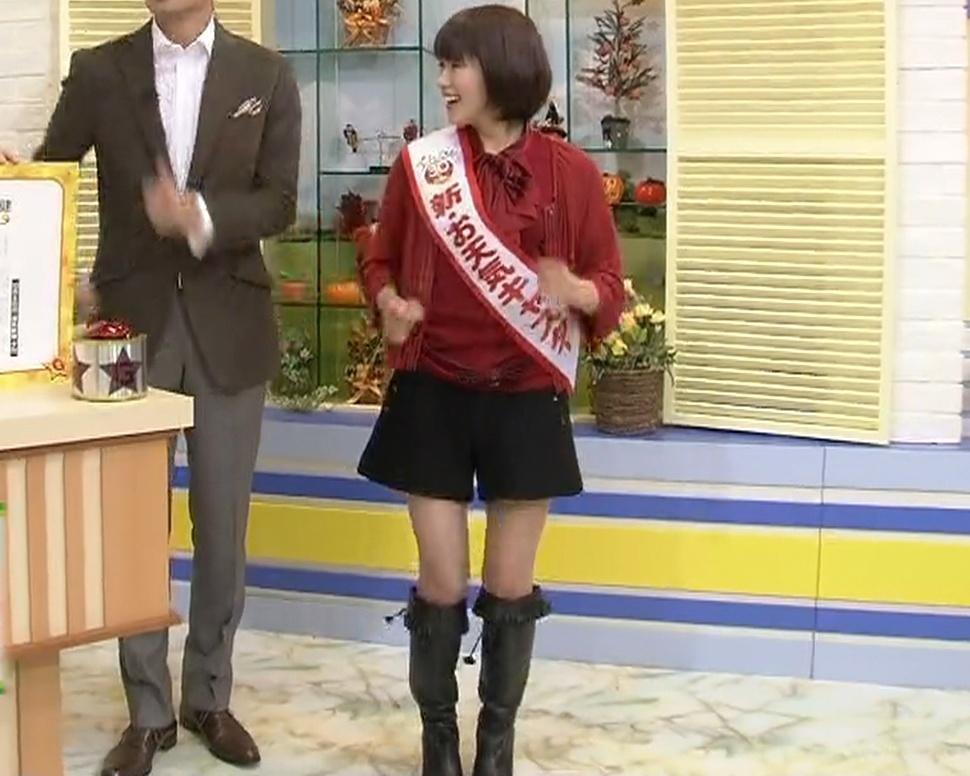 河合優 ズームイン 新お天気キャスター(生脚)キャプ画像(エロ・アイコラ画像)