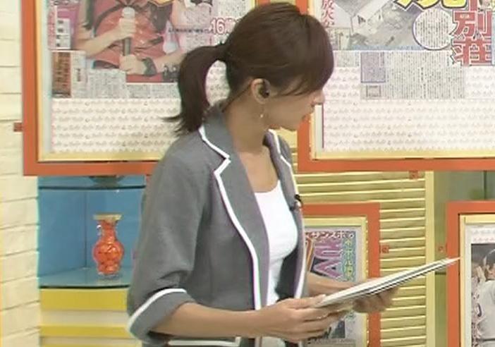 西尾由佳理 おっぱいのふくらみキャプ画像(エロ・アイコラ画像)