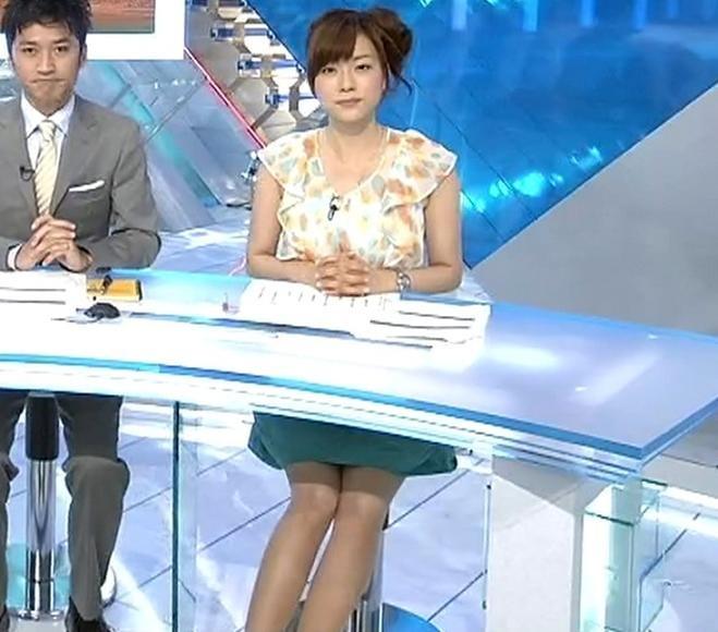 本田朋子 ミニスカート太もも露出キャプ画像(エロ・アイコラ画像)