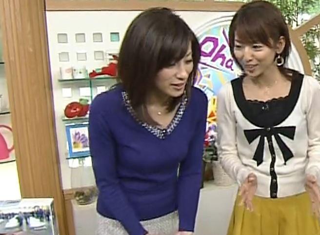 中田有紀 美熟女の胸のふくらみキャプ画像(エロ・アイコラ画像)