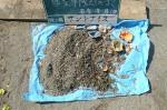 砂場のごみ 遊具
