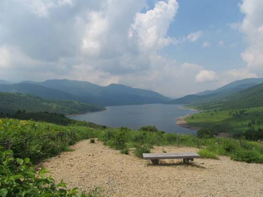 20110717・野反湖空01