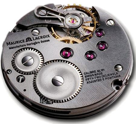 MAURICE LACROIX モーリス・ラクロア マスターピース 新作ダブルレトログラード ムーヴメントML151