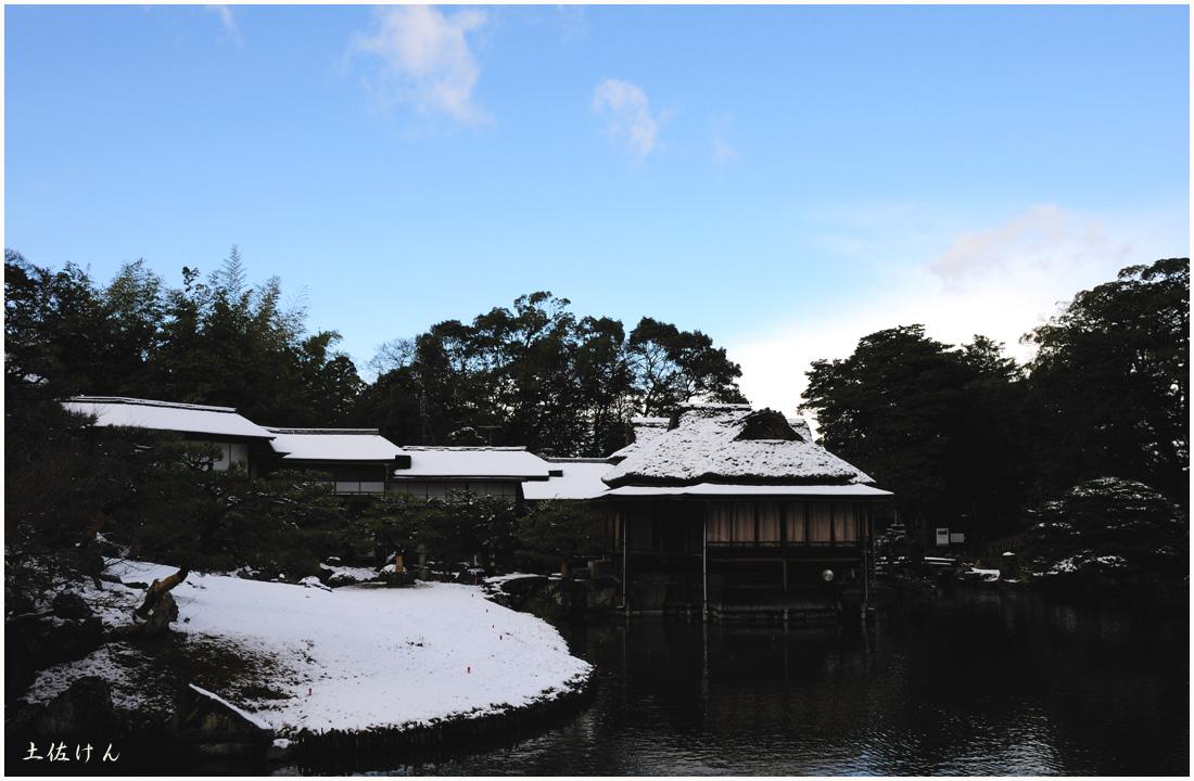 雪の彦根1
