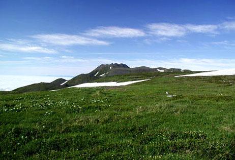 トムラウシ山(2141m)~大雪山系
