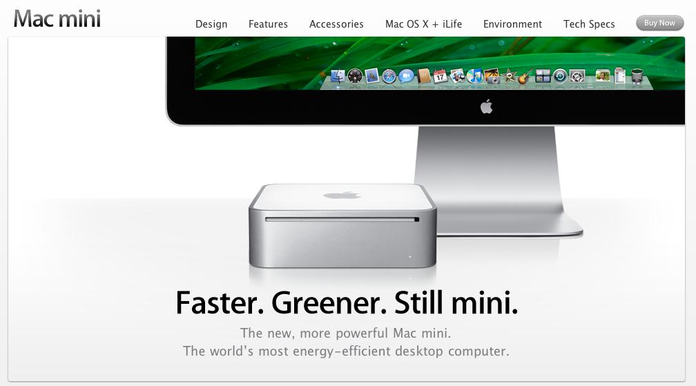 New Mac mini !・・・・・ホッ (^.^